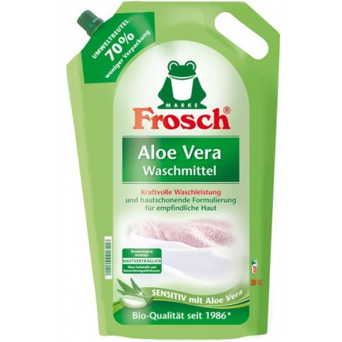 Frosch Aloe Vera Waschmittel flüssig 1,8 L