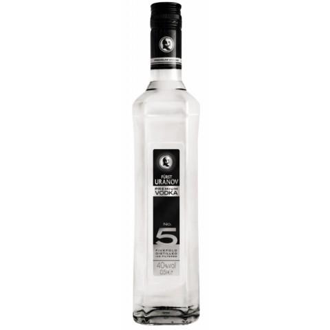 Fürst Uranov Premium Vodka No.5 0,5 ltr
