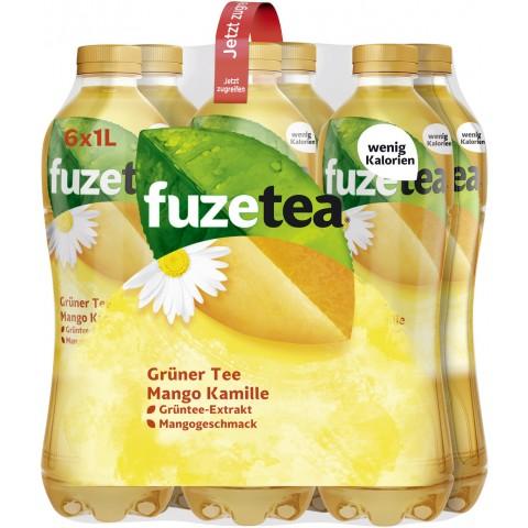 Fuze Tea Grüner Tee Mango Kamille 6x 1 ltr PET