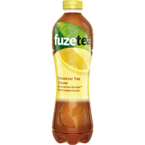 Fuze Tea Schwarzer Tee Zitrone 1 ltr PET
