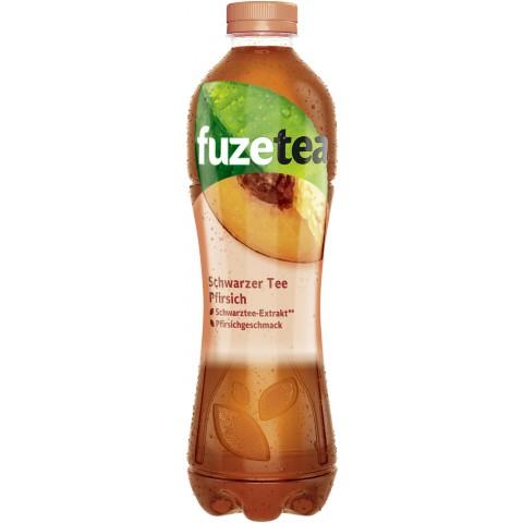 Fuze Tea Schwarzer Tee Pfirsich 1 ltr PET