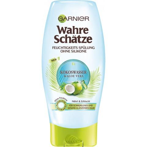 Garnier Wahre Schätze Kokoswasser & Aloe Vera Feuchtigkeitsspülung 200 ml
