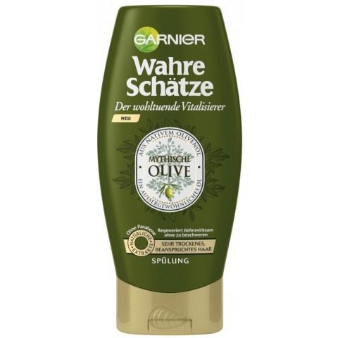 Garnier Wahre Schätze Der wohltuende Vitalisierer Mythische Olive Spülung