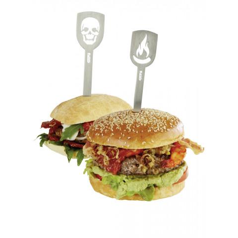 GEFU Hamburger-Spieße Torro 2er Pack