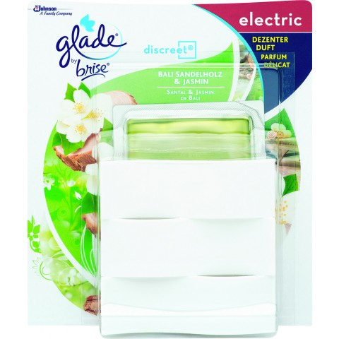 Glade by Brise Discreet Electric Bali Sandelholz & Jasmin 1 Stück