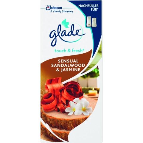 Glade Touch & Fresh Sesual Sandalwood & Jasmine Minispray Nachfüller 10 ml