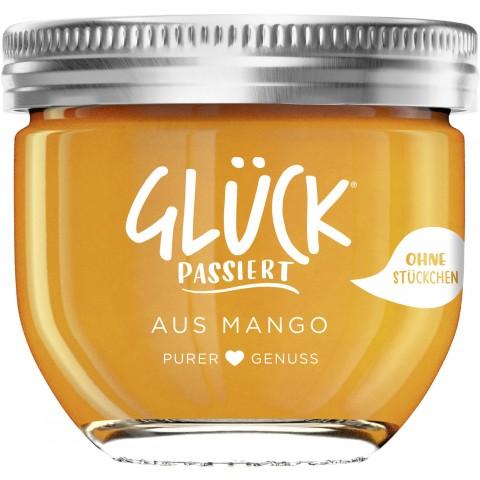 Glück Passiert Fruchtaufstrich Mango 230 g