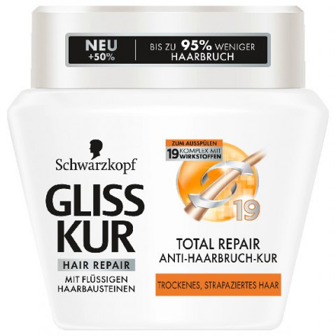 Schwarzkopf Gliss Kur Total Repair Anti-Haarbruch-Kur