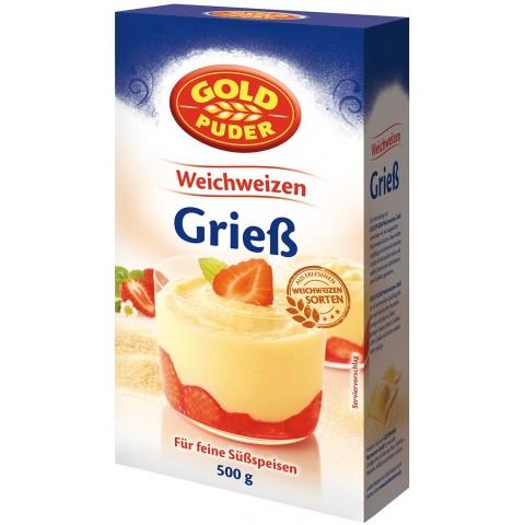 Goldpuder Weichweizen-Grieß