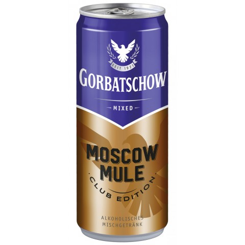 Gorbatschow Mixed Moscow Mule 0,33 ltr