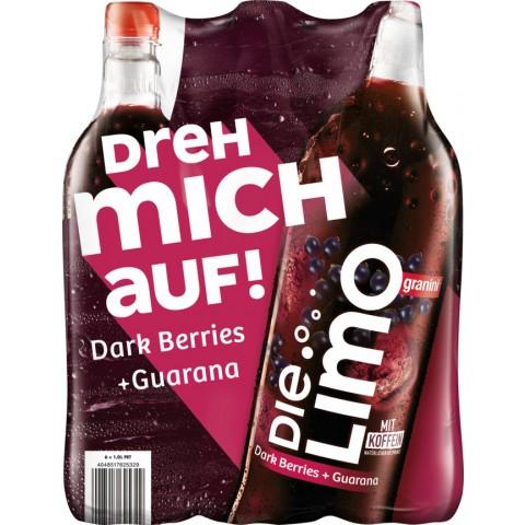 Granini Die Limo Dark Berries & Guarana 6x 1 ltr