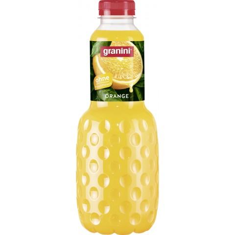 Granini Orange Saft ohne Fruchtfleisch 1 ltr PET