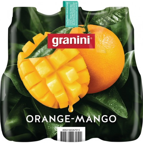 Granini Orange-Mango Nektar 6x 1 ltr PET