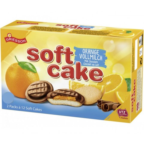 Griesson Soft Cake Vollmilch-Orange 300 g