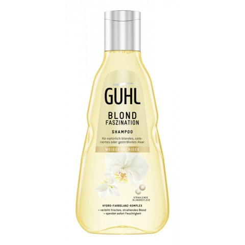 Guhl Blond Faszination Shampoo Weiße Orchidee 250 ml