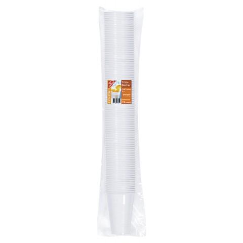 EDEKA Trinkbecher weiß 0,2 l