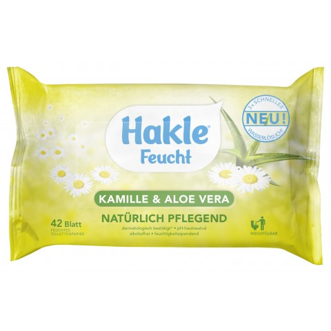 edeka24 hakle feuchtes toilettenpapier kamille aloe vera kaufen. Black Bedroom Furniture Sets. Home Design Ideas