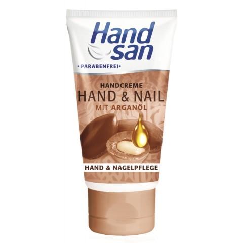 Handsan Hand & Nail Handcreme mit Arganöl