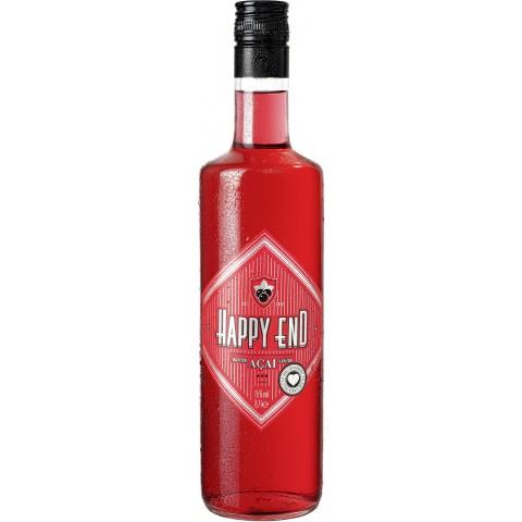 Happy End Roter Acai  Likör