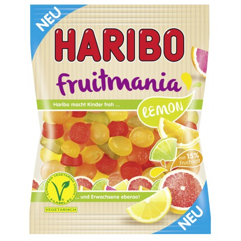 Haribo Fruitmania Lemon 175 g