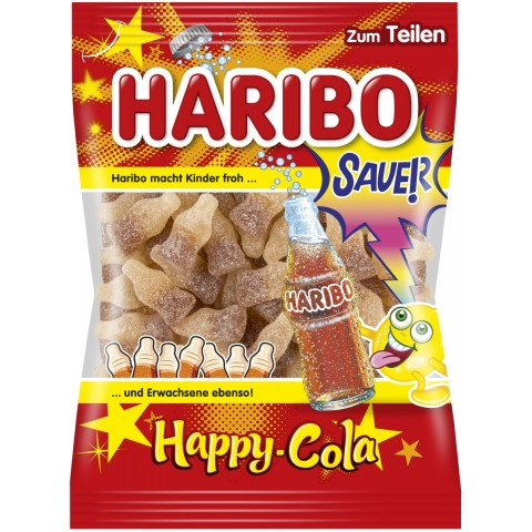 Haribo Happy Cola sauer 200 g