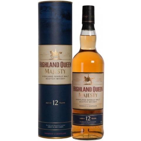 Highland Queen 12 Jahre Majesty Single Malt Whisky