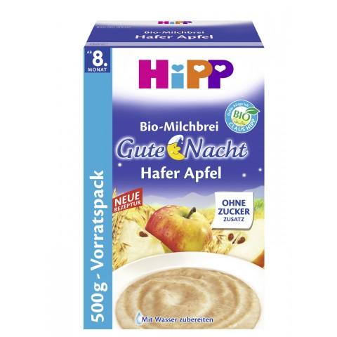 Hipp Bio-Milchbrei Gute Nacht Hafer Apfel ab dem 8. Monat