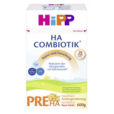 Hipp Pre HA Combiotik von Geburt an 600G