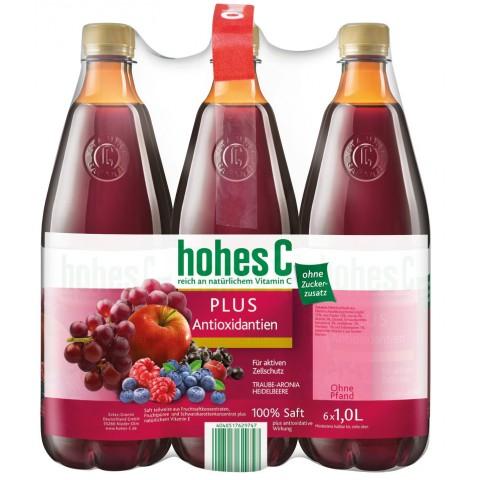 Hohes C Plus Antioxidantien 6x 1 ltr PET