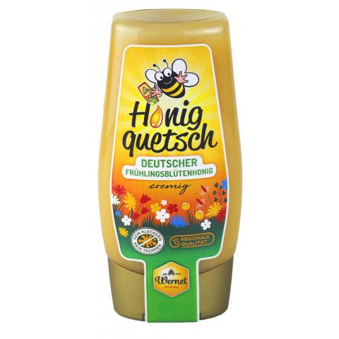 Wernet Honigquetsch Deutscher Frühlingsblütenhonig cremig 350 g