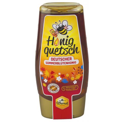 Wernet Honigquetsch Deutscher Sommerblütenhonig 350 g