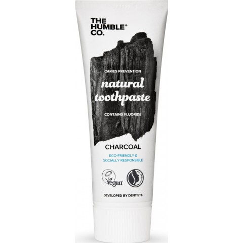 The Humble Co. Natural Toothpaste Charcoal 75 ml