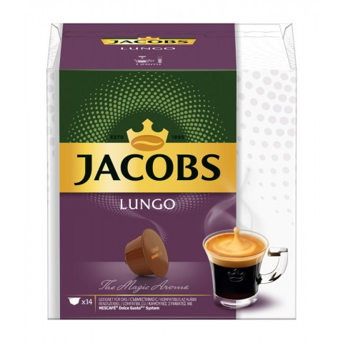Jacobs Lungo Nespresso kompatible Kapseln 14x 7 g