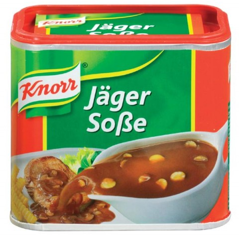 Knorr Jägersoße in der Dose