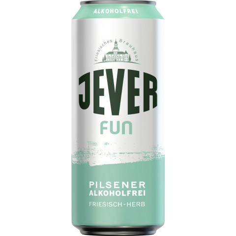 Jever Fun alkoholfrei 0,5 ltr Dose
