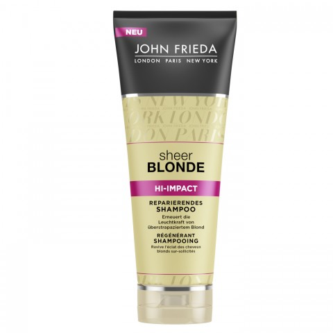 John Frieda Sheer Blonde High Impact Reparierendes Shampoo