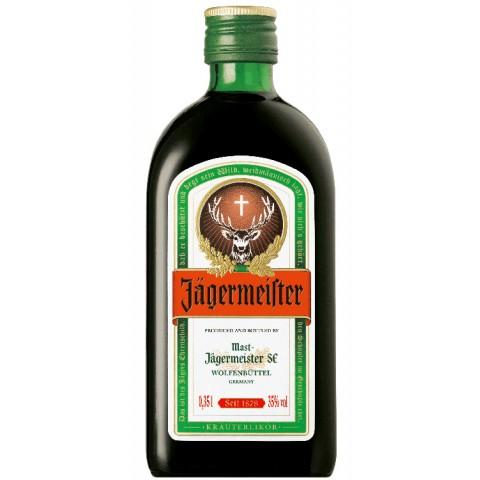 Jägermeister Kräuterlikör halbe Flasche