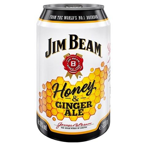 Jim Beam Honey & Ginger Ale