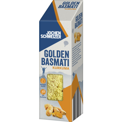 Jochen Schweizer Golden Basmati Reis Kurkuma 300G