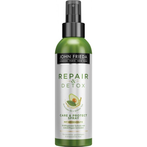 John Frieda Repair & Detox Care & Protect Spray 200 ml