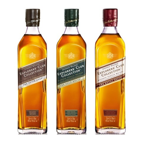 Johnnie Walker Explorers Club Collection Blended Whisky