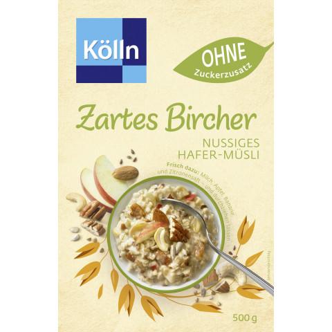 Kölln Zartes Bircher Nussiges Hafer-Müsli 500G