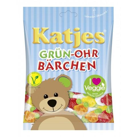 Katjes Grün-Ohr Bärchen 200 g