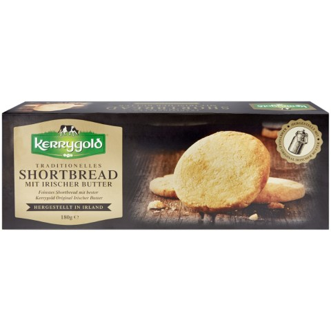 Kerrygold Traditionelles Shortbread mit Irischer Butter 180 g