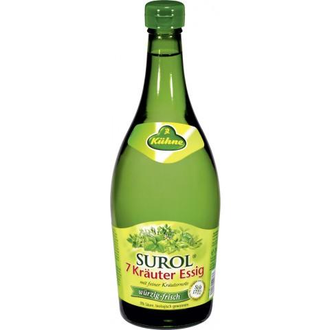 Kühne Surol 7 Kräuter Essig 750 ml