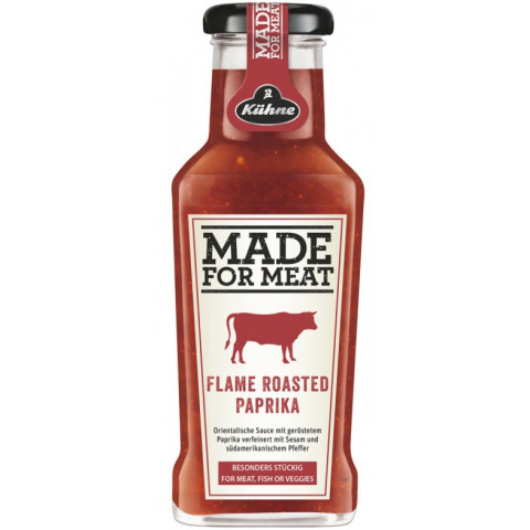 Kühne Made for Meat Flame Roasted Paprika 235ML