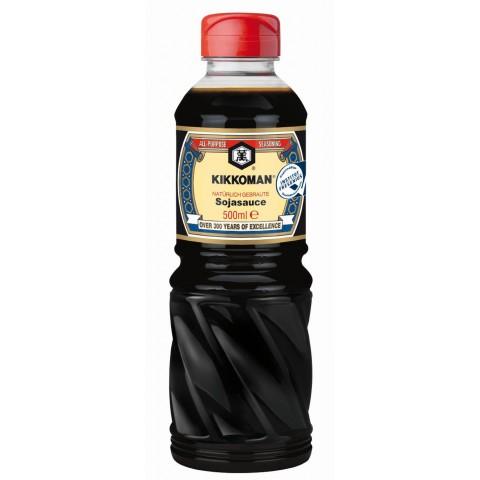 Kikkoman Natürlich gebraute Sojasauce groß 500 ml