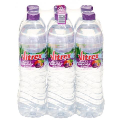 Vitrex Mineralwasser Mango-Maracuja PET 6x 1,5 ltr