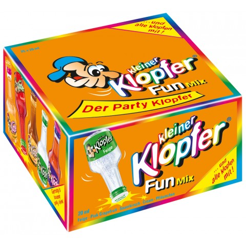 Kleiner Klopfer Fun Mix 25x 20 ml
