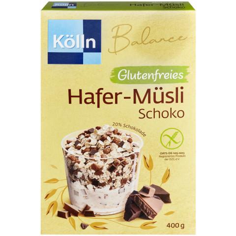 Kölln Balance Zartes Hafer-Müsli Schoko glutenfrei 400G